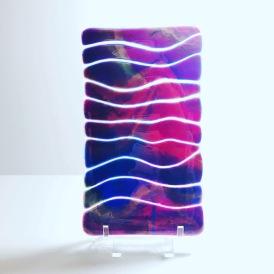 $20 Purple waves 4x7 tray